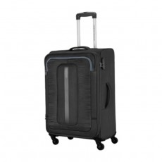 American Tourister 70CM Black Bribane Spinner Soft Luggage in Kuwait | Buy Online – Xcite