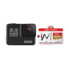 GoPro HERO7 Black Camera + Travel Kit Bundle 7