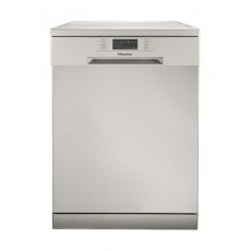 Hisense H14DS 6 Program Free-standing Dishwasher - Silver
