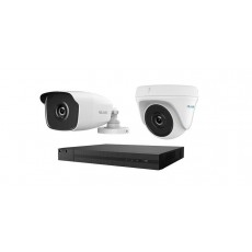 كاميرا المراقبة ٤ قنوات هاي لوك ٤ ميجابكسل (HLNH-404)  - أبيض