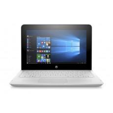 HP x360 Intel Celeron 4GB RAM 128 SSD 11.6-inch Convertible Laptop (11-ab103ne) - White
