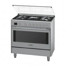 Bosch 90x60CM Free Standing Gas Cooker HSG738357M in Kuwait | Buy Online – Xcite