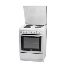 الطباخ الكهربائي القائم من إنديست ٦٠x٦٠ سم – ٤ عيون (I6e55H2E (W)/EX)