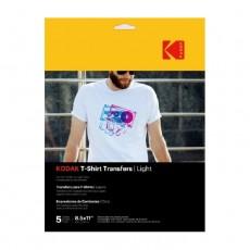 Kodak A4 Light T-Shirt Transfer Paper (PKT5)