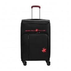 US Polo Gerardo Large Soft Luggage - Black