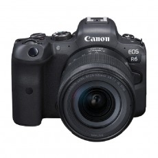 اطلب مسبقا : كاميرا كانون اي او اس ار 6 بدون مرآه + عدسة 24 -105 ملم
