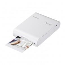 طابعة الصور المدمجة كانون سيلفي سكوير QX10 - أبيض