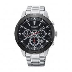ساعة سيكو 43 ملم أنالوج معدنية للرجال (KS611P1)