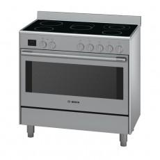 طباخ كهربائي 90 × 60 من بوش- 5 مواقد - (HCB738357M)
