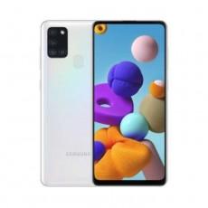 هاتف سامسونج جالاكسي A21s - بسعة 64 جيجابايت - أبيض
