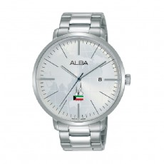 Alba 44mm Analog Unisex Metal Fashion Watch (AS9K65X1)