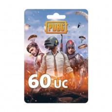 نقاط لعبة ببجي بقيمة (60 UC)