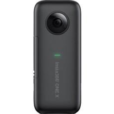 كاميرا الأكشن إنستا ٣٦٠ وان إكس بدقة ١٨ ميجابكسل - أسود