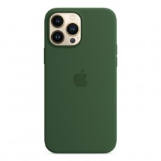 Apple iPhone 13 Pro MagSafe Silicone Case GREEN CLOVER BUY IN XCITE KUWAIT
