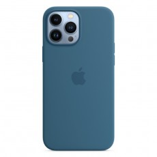 Apple iPHONE 13 PRO MAX LIGHT blue SILICONE COVER BUY IN XCITE KUWAIT