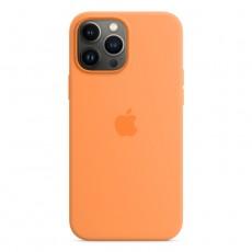 غطاء حماية آبل لآيفون 13 برو من السيليكون مع ماجسيف - برتقالي