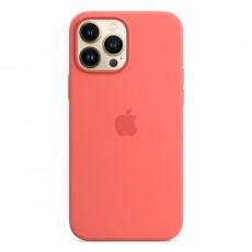 Apple iPhone 13 Pro MagSafe Silicone Case Pink Pomelo buy xcite kuwait