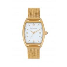 ساعة جين بليكور المعدنية بعرض تناظري  بحجم 32 ملم (JB1084)  - ذهبي