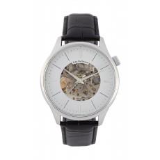 Jean Bellecour 45mm Squelette Analog Gent's Leather Watch - JB1124