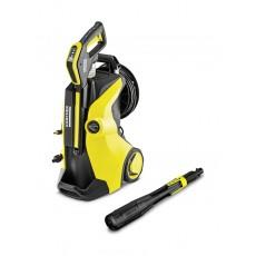 مغسلة الضغط العالي المنزلية كي ٥ مع التحكم الكامل من  كارتشر كي ٥ - أسود / أصفر