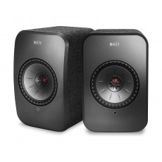 KEF LSX 100W Wireless Bluetooth Music System - Black