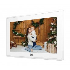 Kodak RCF-106 10-inches Touch Panel Digital Photo Frame - White