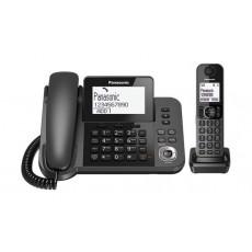 هاتف لاسلكي واسع النطاق من باناسونيك - قاعدة ثابتة (KX-TGF310UE)