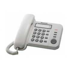 Panasonic Corded Telephone (KX-TS520FXW) - Black