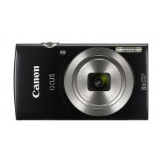 Canon IXUS 185 Digital Camera, 20MP 2.7-inch LCD Display – Black Front View