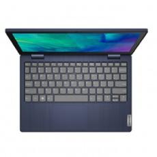لابتوب فليكس 3 اثلون، رام 4 جيجابايت، 128 جيجابايت اس اس دي، 11.6 بوصة من لينوفو - ازرق