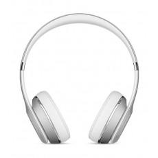 سماعة الرأس اللاسلكية بيتس سولو ٣ – فضي (MNEQ2LL/A)