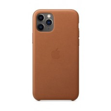 Apple iPhone 11 Pro Leather Case - Saddle Brown 3