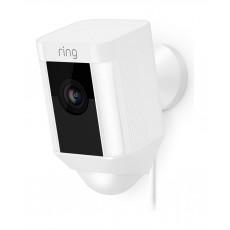 Ring Stick Up Hardwired Camera - White