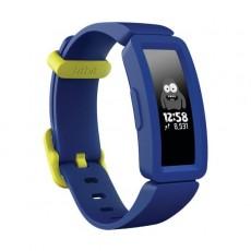 ساعة تعقب نشاط للأطفال من فيت بت  ايس 2 (FB414BKBU) – أزرق غامق / أصفر نيون