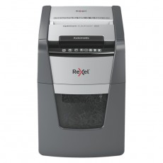 Rexel Automatic Paper Shredder grey white cube small buy in xcite Kuwait