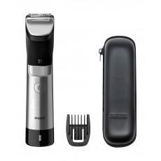 Philips BT9810 9000 Prestige Beard Trimmer - Black/Sliver