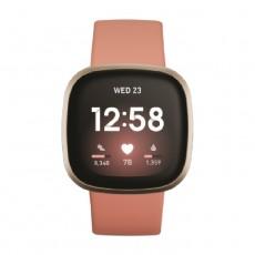 Fitbit Versa 3 Smart Watch - Pink / Gold