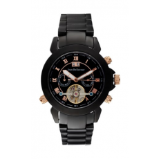 Jean Bellecour Automatic Analog Gents Watch – Metal Strap (REDS6)