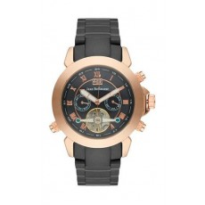 Jean Bellecour Automatic Analog Gents Watch – Metal Strap (REDS7)