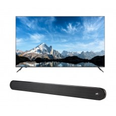 Haier 65inch UHD 4K Smart LED TV - LE65K6600UG + Polk Audio Signa Solo Wireless Soundbar