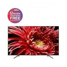تلفزيون سوني الذكي65 بوصة 4 كي فائق الوضوح إل إي دي  (KD-65X8577G)