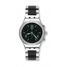 Swatch Made In Black Gents Chrono Watch - SWAYCS118G