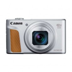 كاميرا ديجيتال كانون باور شوت 20.3 ميجابكسل SX740 HS    - فضي