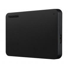 Toshiba Canvio Connect 2TB Portable Hard Disk - Black