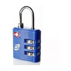 قفل حقيبة رقمي تي إس إيه من أميريكان توريستر - أزرق