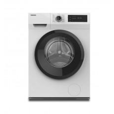 غسالة الملابس توشيبا تحميل أمامي سعة ٨ كجم مع ١٦ برنامج غسيل (TW-H90S2B) - أبيض
