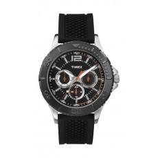 ساعة تايمكس إيليفاتيد كلاسيك للرجال – حزام مطاطي TW2P87500