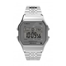 Timex T80 Expansion Unisex Digital Metal Watch - (TW2R79300)