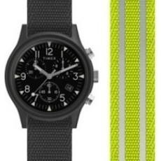 ساعة تايمكس كور كامبر ٤٠ ملم رجالية عرض تناظري و سوار من النايلون (TW2R81400)