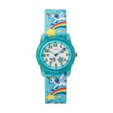 Timex Kids Analog 28mm Elastic Fabric Strap Watch - TW7C25600 a